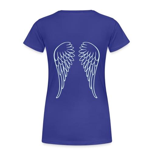T-shirt Premium Femme - ange carte pokers aile