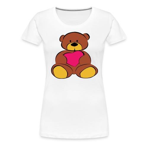 Maglietta Donna Teddy Bear - Maglietta Premium da donna