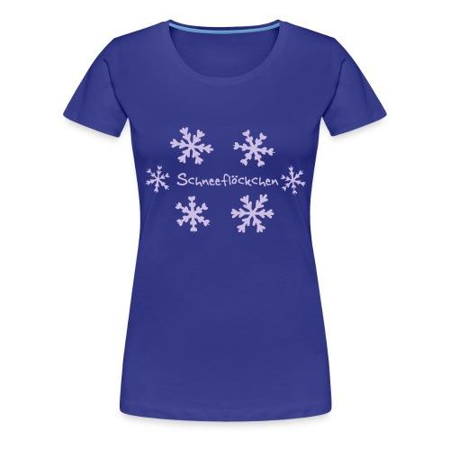 Schneeflöckchen - Frauen Premium T-Shirt