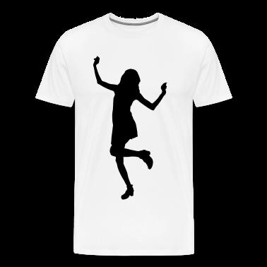girl woman dance music model sexy sex bachelorette party T-Shirts