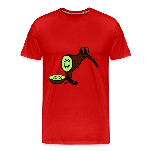 Kiwi Bird - Männer Premium T-Shirt