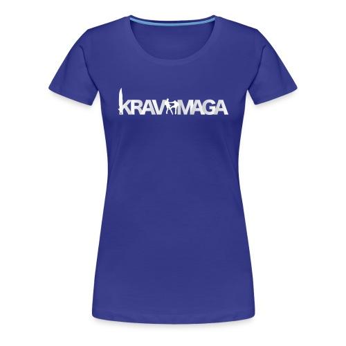 T-shirt Krav Maga Femme Divas - T-shirt Premium Femme