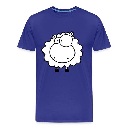 Kuschel Schaf Shirt - Männer Premium T-Shirt