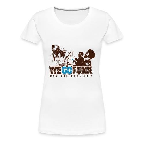 Logo Classique Wegofunk - Femme - T-shirt Premium Femme