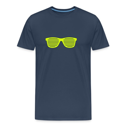 Cool Glasses - 3XL - 5XL - Men's Premium T-Shirt