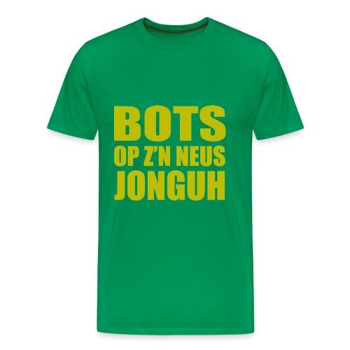 New Kids T-shirt Bots op z'n neus jonguh - Mannen Premium T-shirt