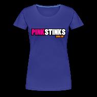 T-Shirts ~ Women's Premium T-Shirt ~ Womens' 'Classic' Greeny-blue! tee