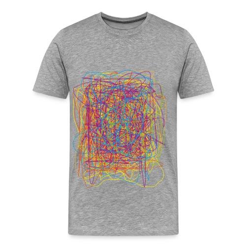 shirt 'geklieder' - Mannen Premium T-shirt