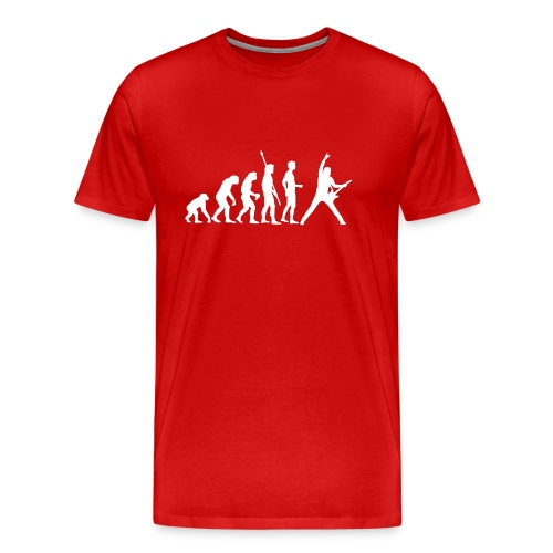 Music Evolution - 3XL - 5XL - Men's Premium T-Shirt