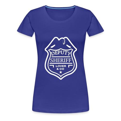 Policier Femme - T-shirt Premium Femme