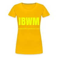 T-Shirts ~ Women's Premium T-Shirt ~ The IBWM slim tee for women
