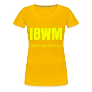 The IBWM slim tee for women - Women's Premium T-Shirt