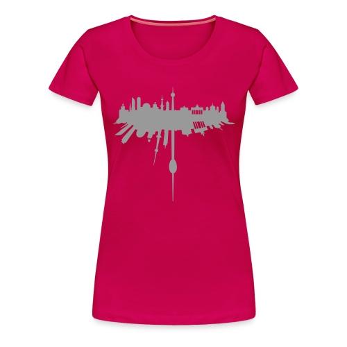 Berlin disco - Frauen Premium T-Shirt
