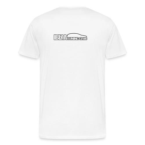 T-Shirt ITC 4 Emotion LOGO NERO UOMO EXTRASIZE - Maglietta Premium da uomo