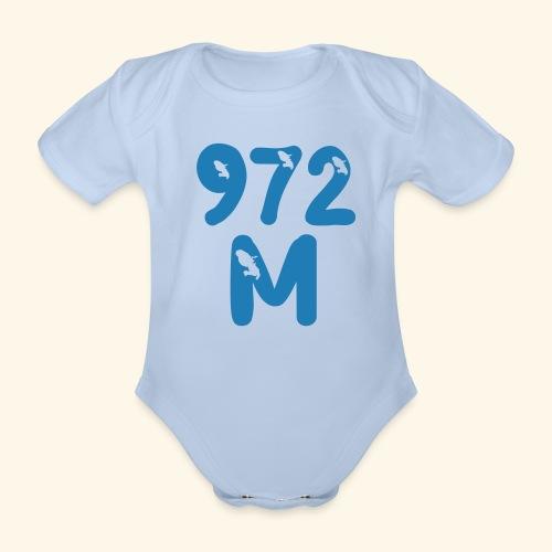 M 972, Martinique body bébé - Body bébé bio manches courtes