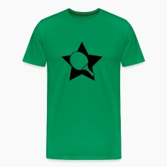 Table tennis paddle star T-Shirts
