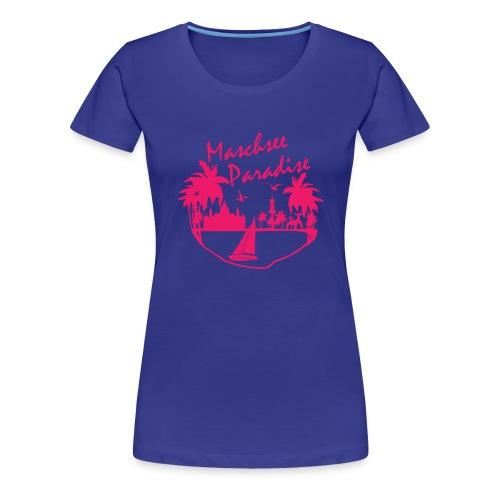 maschsee paradide - Frauen Premium T-Shirt