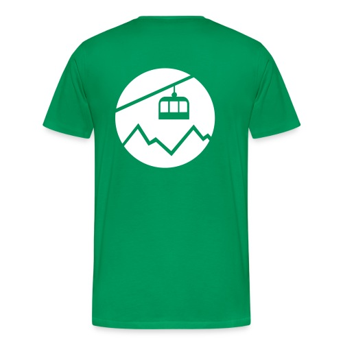 Backsidelogo - Männer Premium T-Shirt
