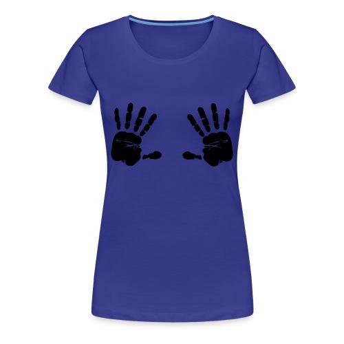 touche pas à mes potes!! - T-shirt Premium Femme