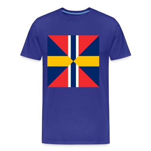 Sildesalaten - Premium T-skjorte for menn
