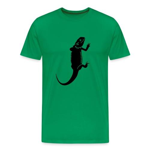 Bartagame  - Männer Premium T-Shirt