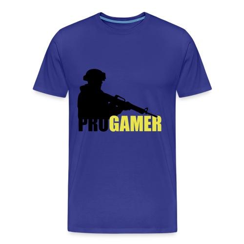 PRO GAMER [Velg flere farger og størrelse] - Premium T-skjorte for menn
