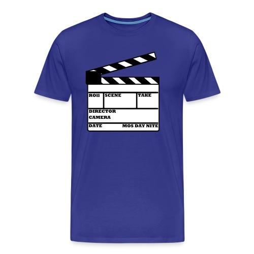Filmklappe - Männer Premium T-Shirt