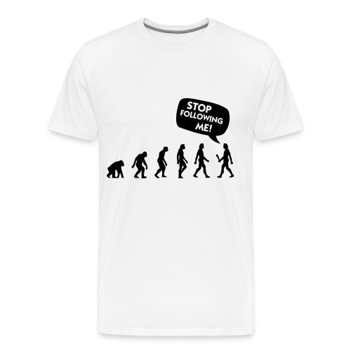 Evolution - Premium T-skjorte for menn