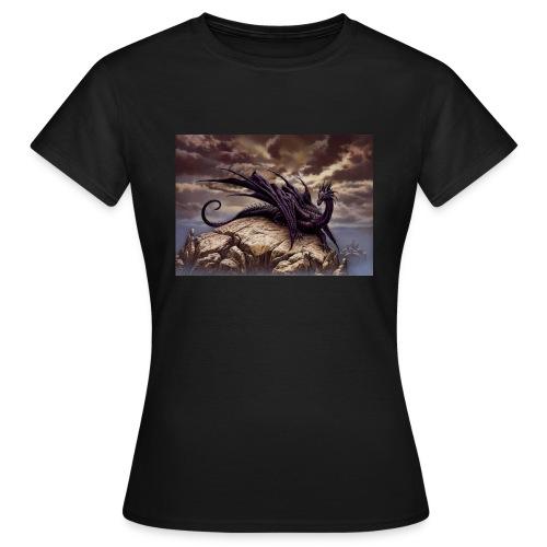 Ciruelo Dark Dragaon - Women's T-Shirt