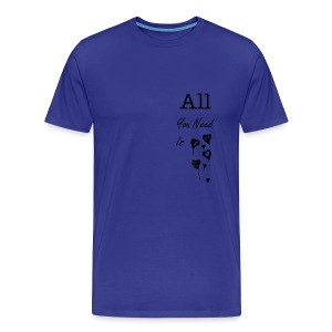 Love - All you need is love reseaux - Men's Premium T-Shirt