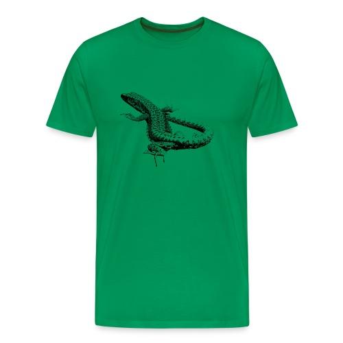 Lacerta - Männer Premium T-Shirt