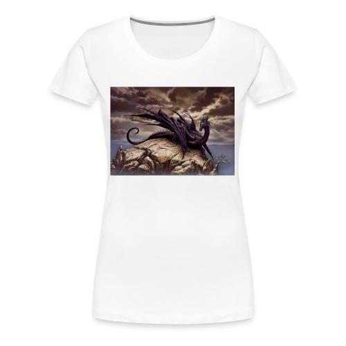 Ciruelo Dark Dragaon - Women's Premium T-Shirt