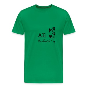 Love - All you need is - Men's Premium T-Shirt