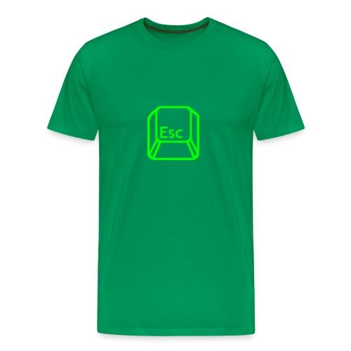 Camiseta hombre clásica ESC - Camiseta premium hombre
