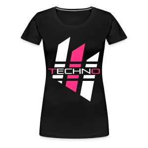 Techno_01 T-Shirts - Frauen Premium T-Shirt