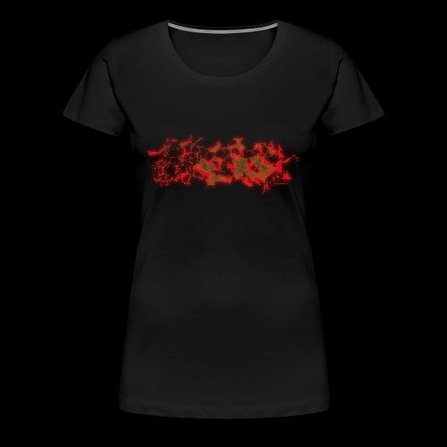 Structure - Frauen Premium T-Shirt