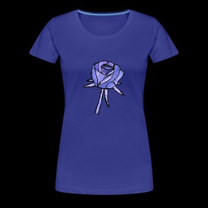 Rose blau - Women's Premium T-Shirt