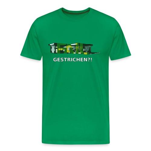 Kiosk gestrichen - Männer Premium T-Shirt