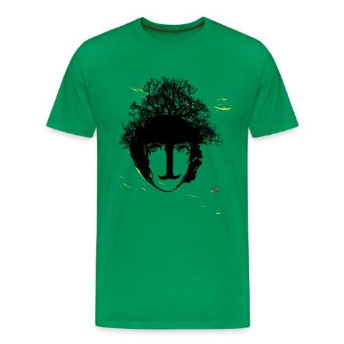 Baum Bart Mensch - Männer Premium T-Shirt