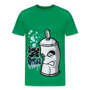 Spray and graffiti - T-shirt Premium Homme