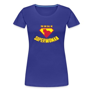 Frauen Premium T-Shirt - Superwoman