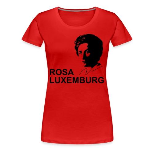 Rosa Luxemburg - Girly Shirt - Frauen Premium T-Shirt