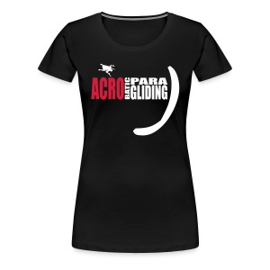 acrobatic paragliding - Frauen Premium T-Shirt