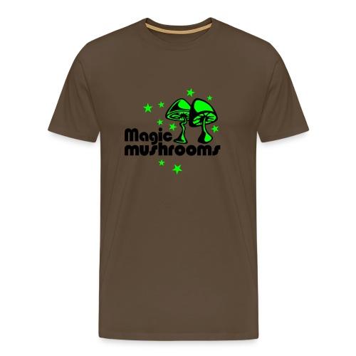 MUSHROOMS - T-shirt Premium Homme