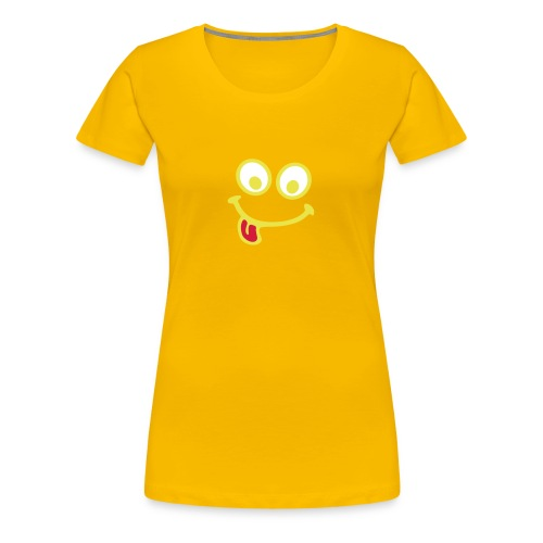 Smiley Yummie  - Women's Premium T-Shirt