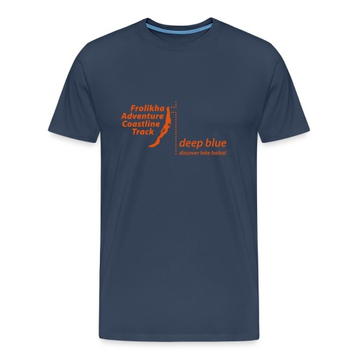 Frolikha Adventure Coastline Track - Shirt 2 - Männer Premium T-Shirt