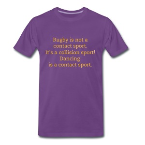 Rugby is ..... - Men's Premium T-Shirt