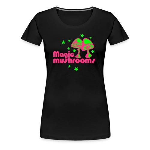 MUSHROOMS - T-shirt Premium Femme