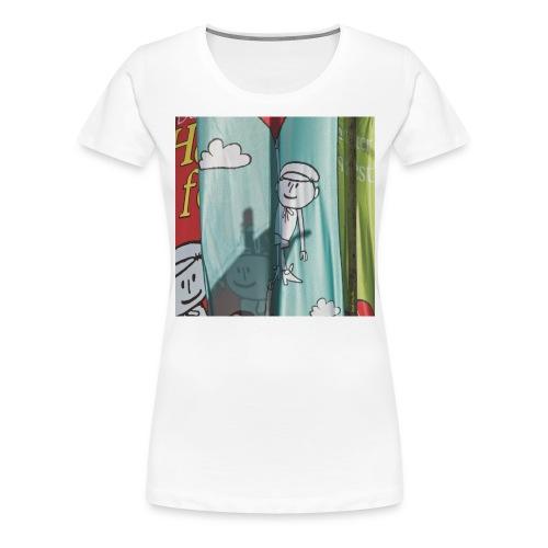Heinerfest-Fahnen im Herrngarten Darmstadt - Frauen Premium T-Shirt