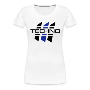 techno_03 T-Shirts - Frauen Premium T-Shirt